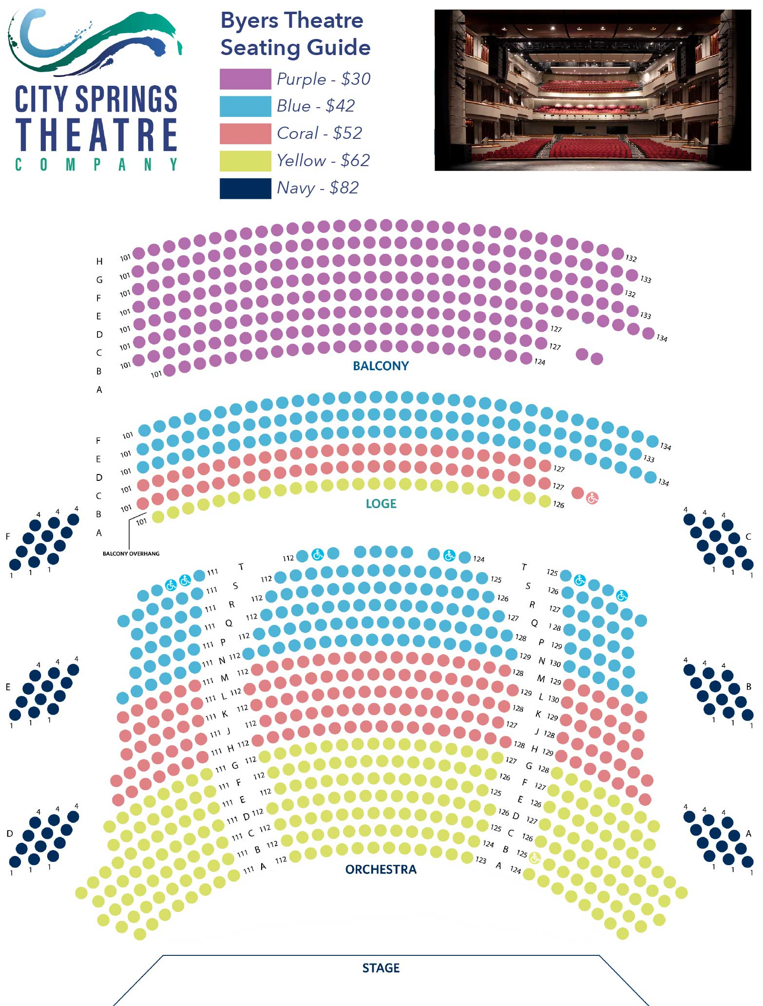 Click The Seating Chart For Larger View Pricing Excludes Ticketing Fees